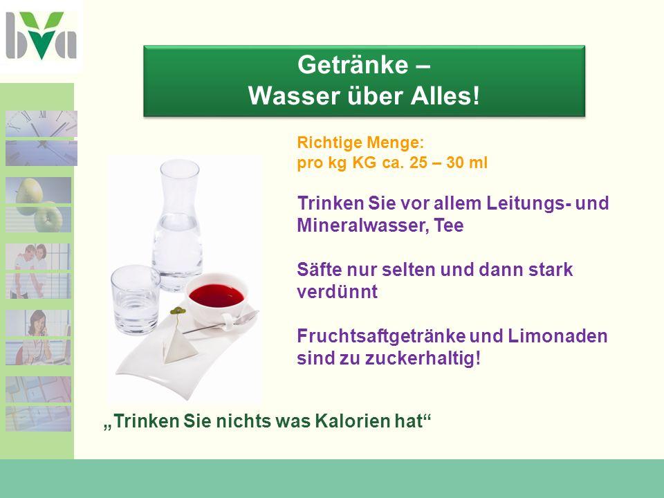 Getränke – die Zuckerfalle! 0 g Zucker/L 162g Zucker/L Mehr Info: www.sipcan.at
