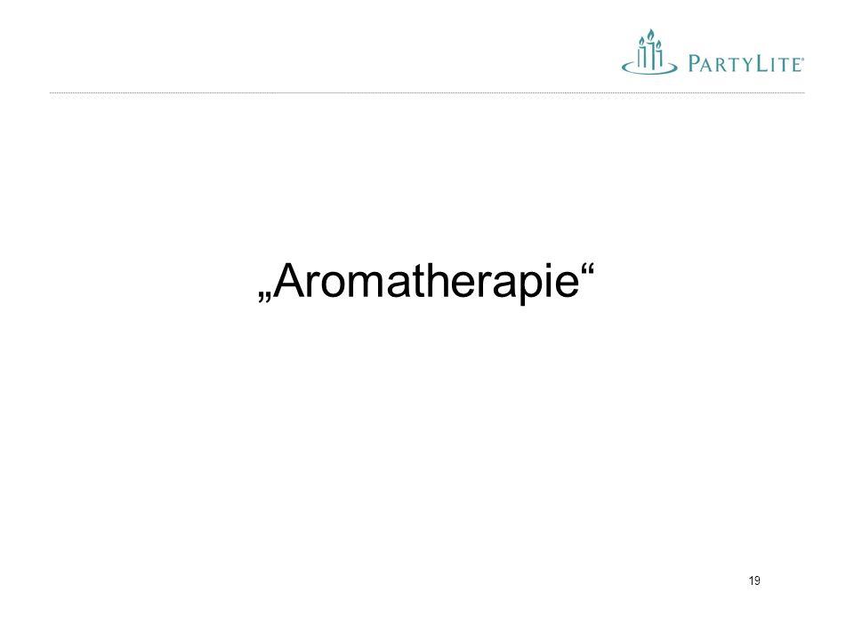 """19 """"Aromatherapie"""""""