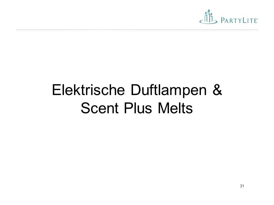 31 Elektrische Duftlampen & Scent Plus Melts
