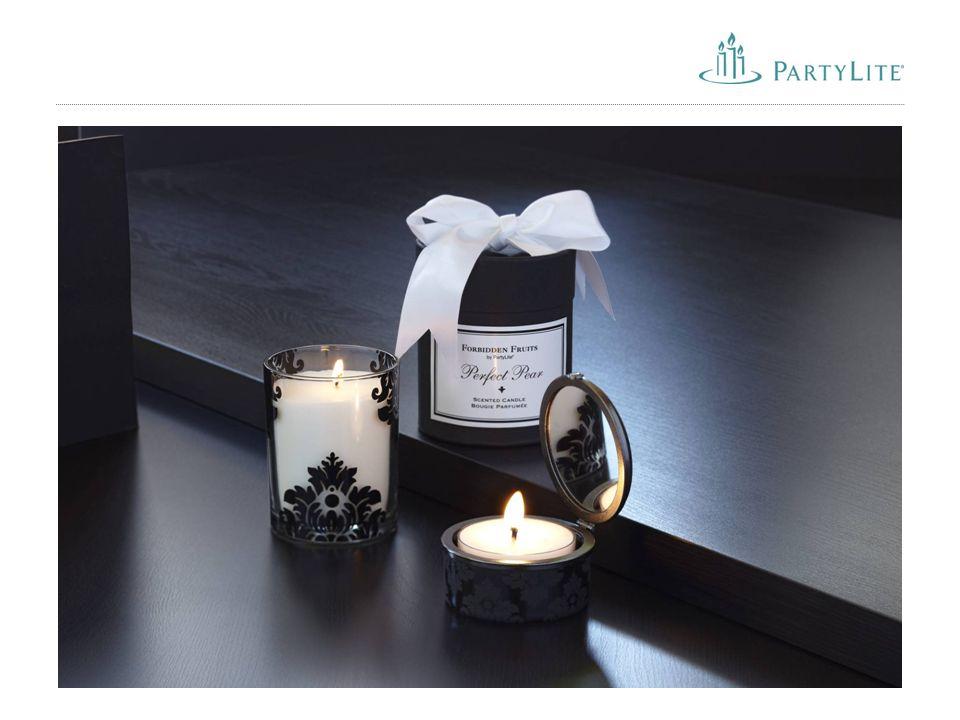 """25 Neue PartyLite Düfte ab März 2011 """"Aromatherapie Calm Eine natürliche Mischung aus beruhigendem Lavendel und wohltuendem Rosmarin."""