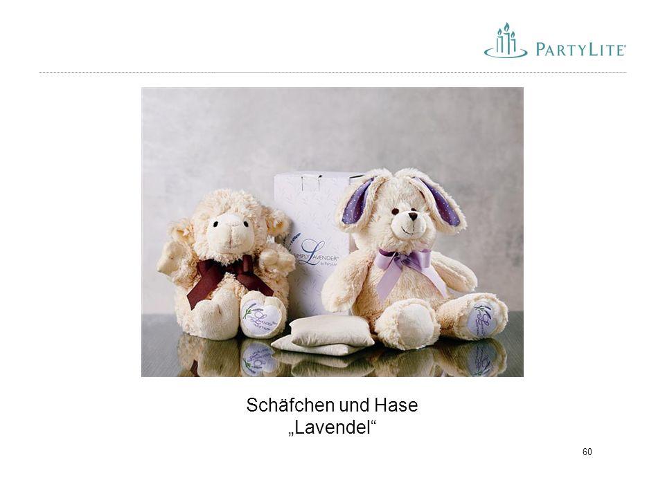 """60 Schäfchen und Hase """"Lavendel"""""""