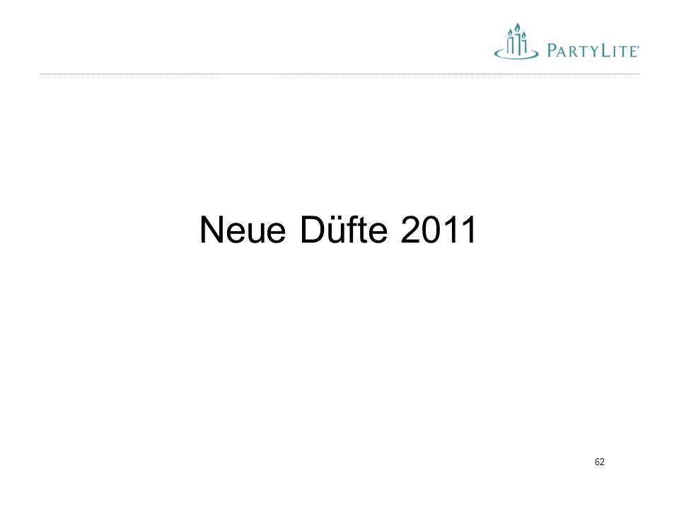 62 Neue Düfte 2011