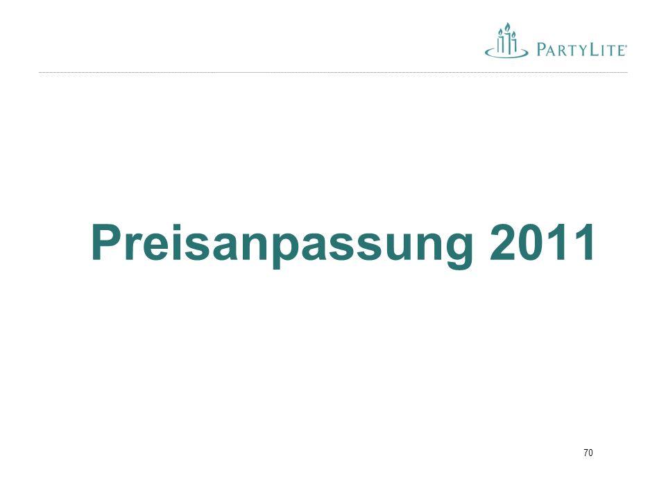 70 Preisanpassung 2011