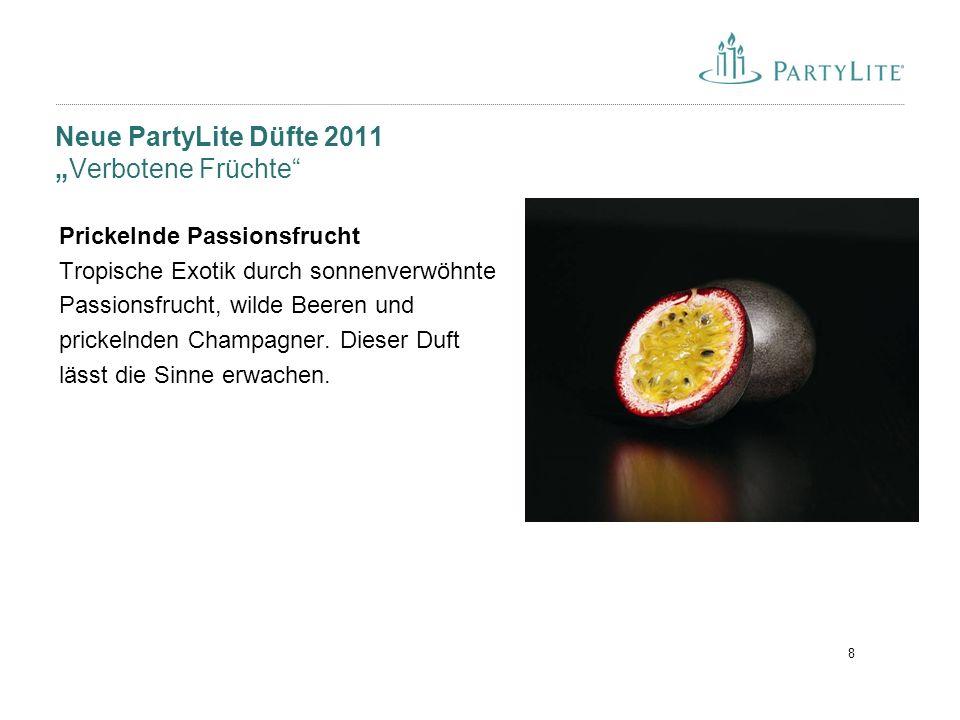 """8 Neue PartyLite Düfte 2011 """"Verbotene Früchte"""" Prickelnde Passionsfrucht Tropische Exotik durch sonnenverwöhnte Passionsfrucht, wilde Beeren und pric"""
