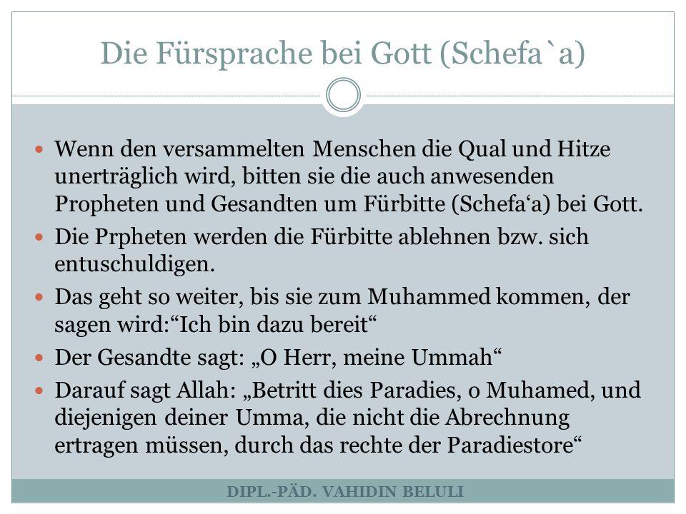 Die Abrechnung (Al-Hisab) DIPL.-PÄD.