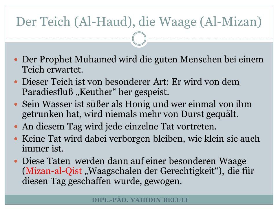 Der Weg (As-Sirat) DIPL.-PÄD.
