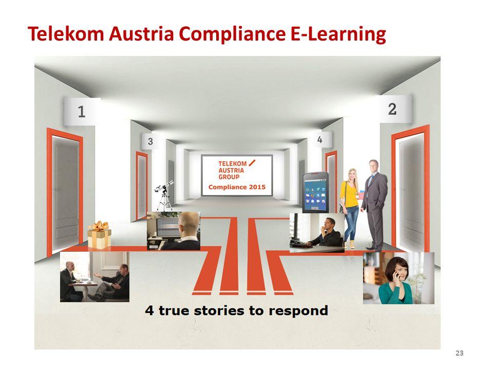 Telekom Austria Compliance E-Learning 23