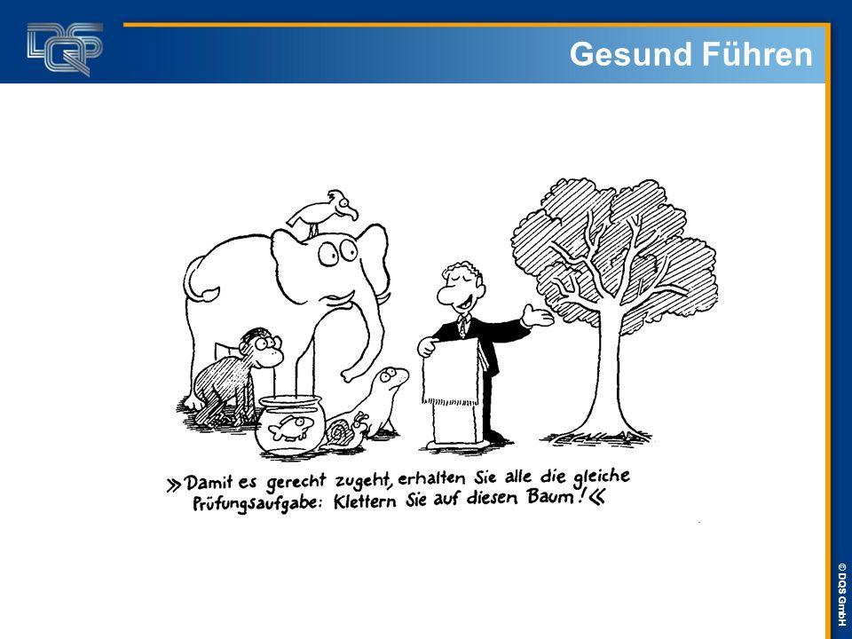 © DQS GmbH Auswirkungen … auf die Führung:  Heute erwarten die Mitarbeiter Autonomie und Entscheidungsbefugnis.