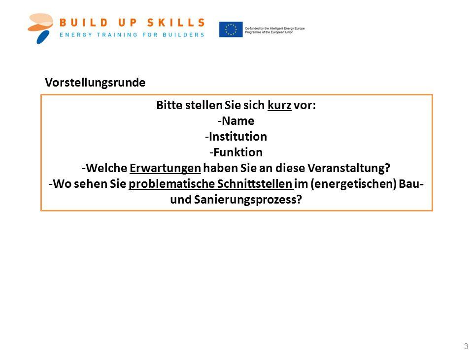 Weiterführende Informationen Möchten Sie mehr zum Projekt BUILD UP Skills QUALITRAIN erfahren.