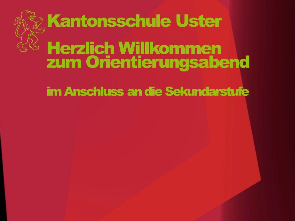 Kantonsschule Uster Tag der offenen Tür Mittwoch 2.