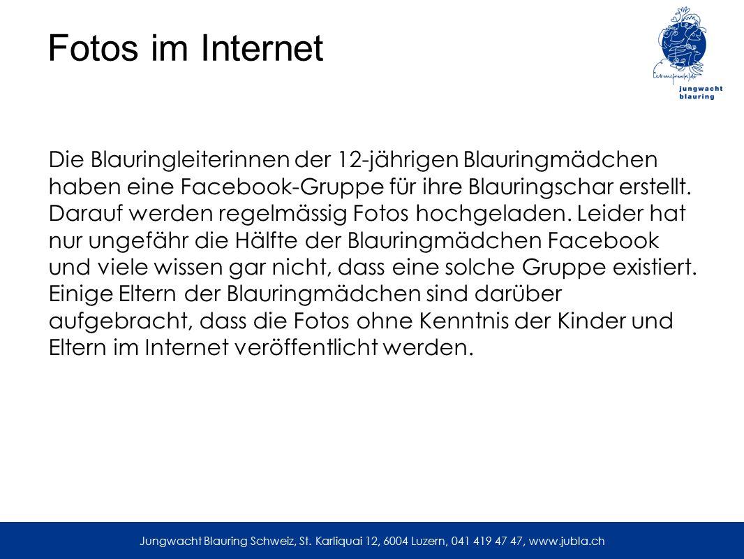 Nützliche Weblinks jubla-shop.ch onlinedruck.ch sbudget.ch flyerline.ch … Jungwacht Blauring Schweiz, St.