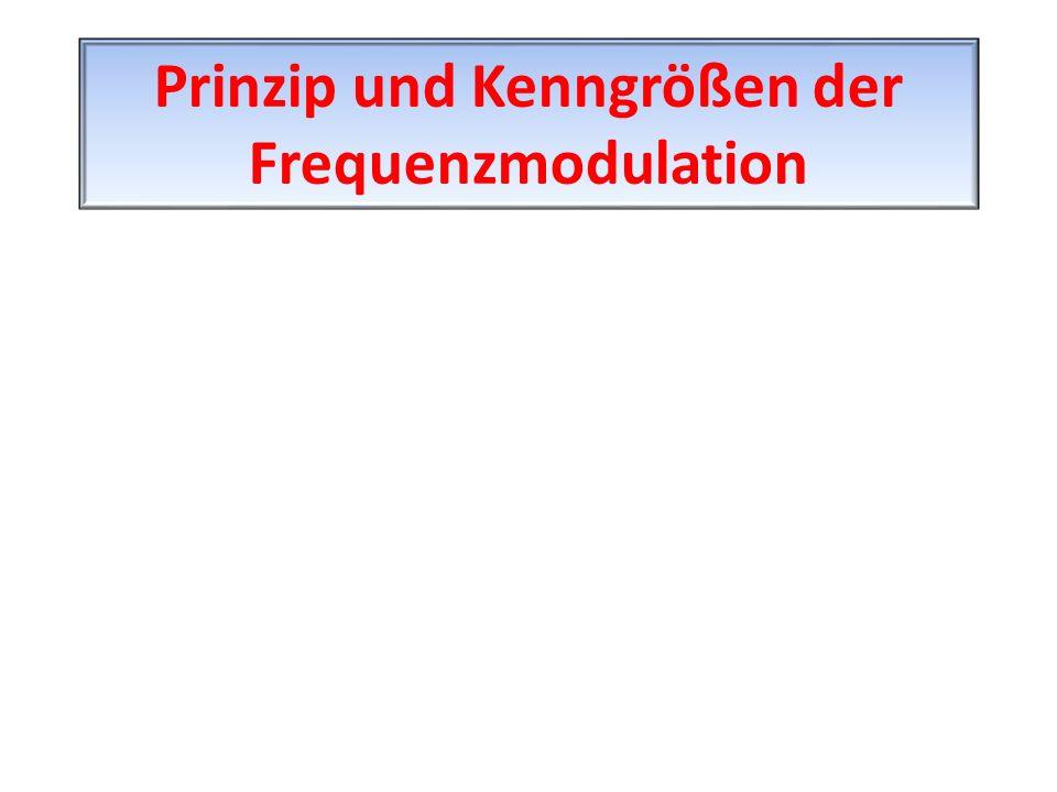 Prinzip und Kenngrößen der Frequenzmodulation