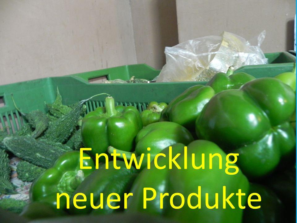 Entwicklung neuer Produkte.