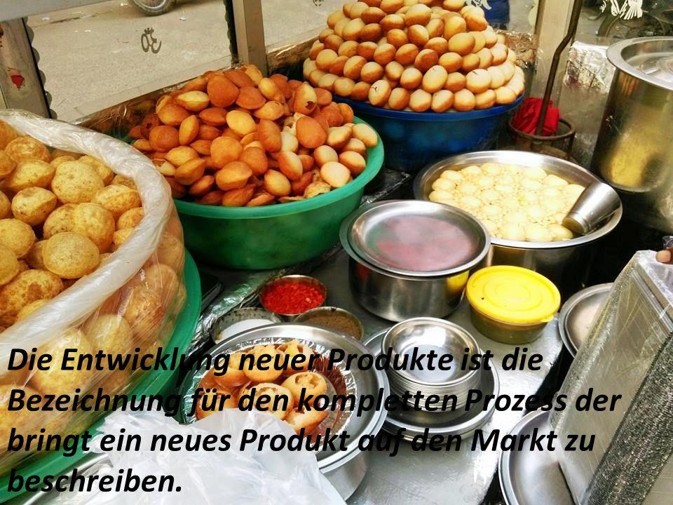 Die Entwicklung neuer Produkte ist die Bezeichnung für den kompletten Prozess der bringt ein neues Produkt auf den Markt zu beschreiben.