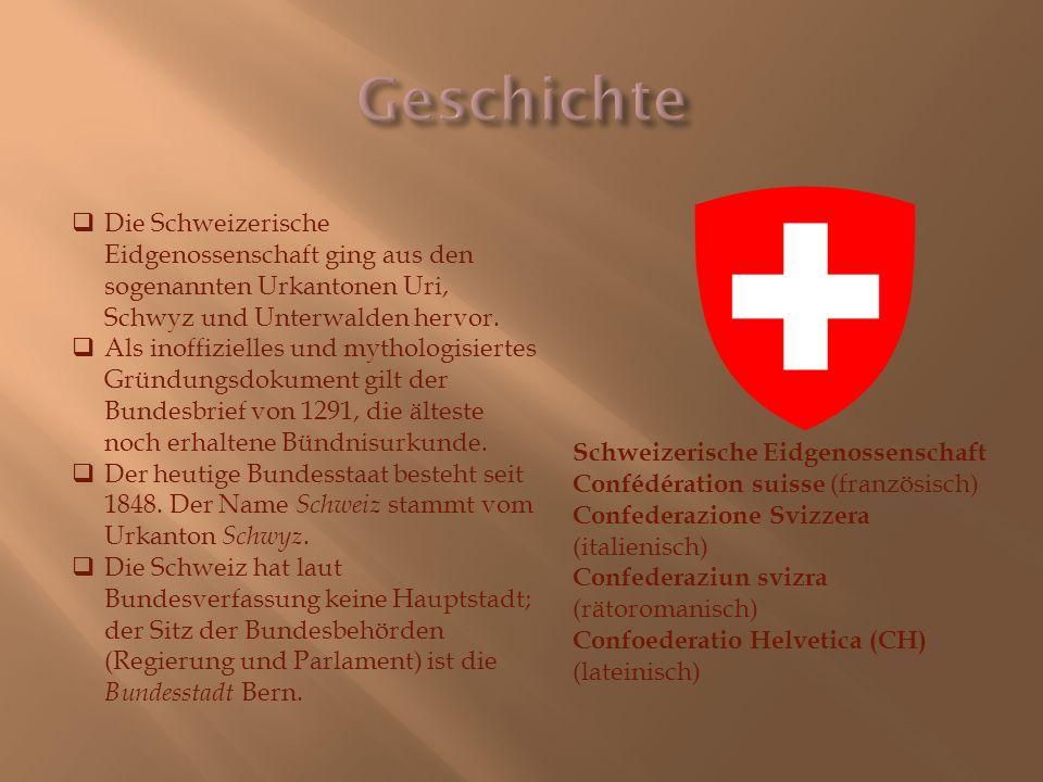 «Der Stammbaum der Eidgenossenschaft».Das Schmuckblatt des 19.
