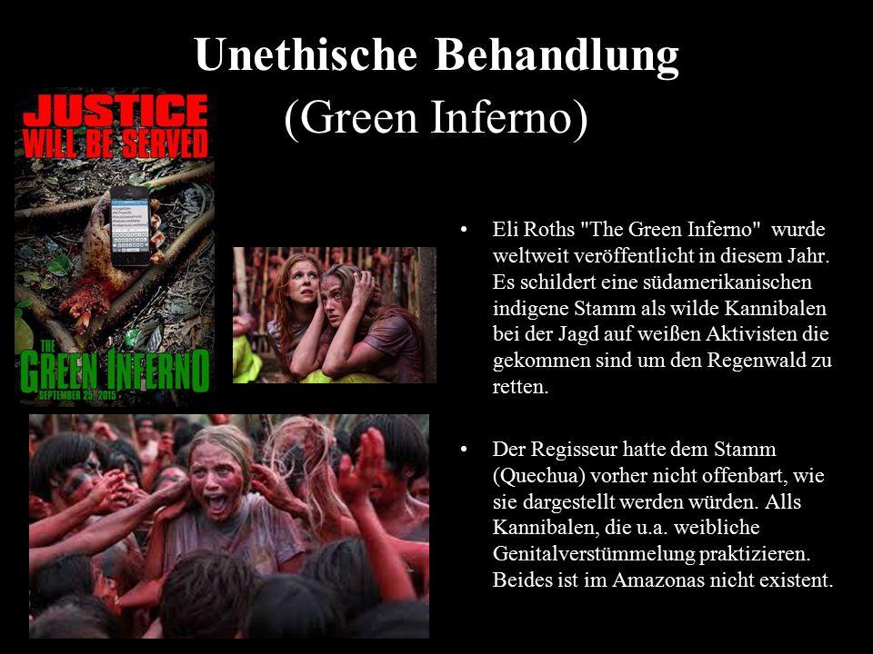 Unethische Behandlung (Green Inferno) Eli Roths