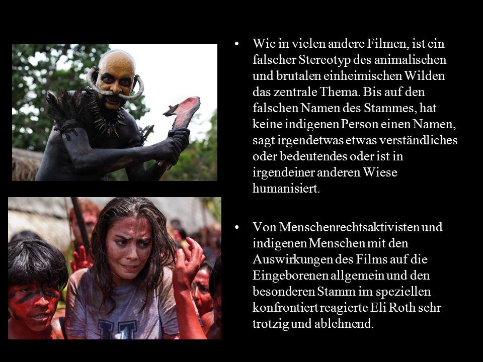 Part 2 Wie in vielen andere Filmen, ist ein falscher Stereotyp des animalischen und brutalen einheimischen Wilden das zentrale Thema. Bis auf den fals
