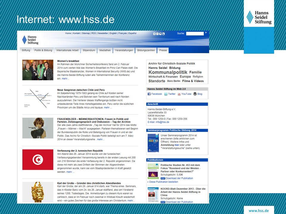 Internet: www.hss.de