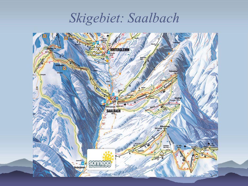 Skigebiet: Saalbach