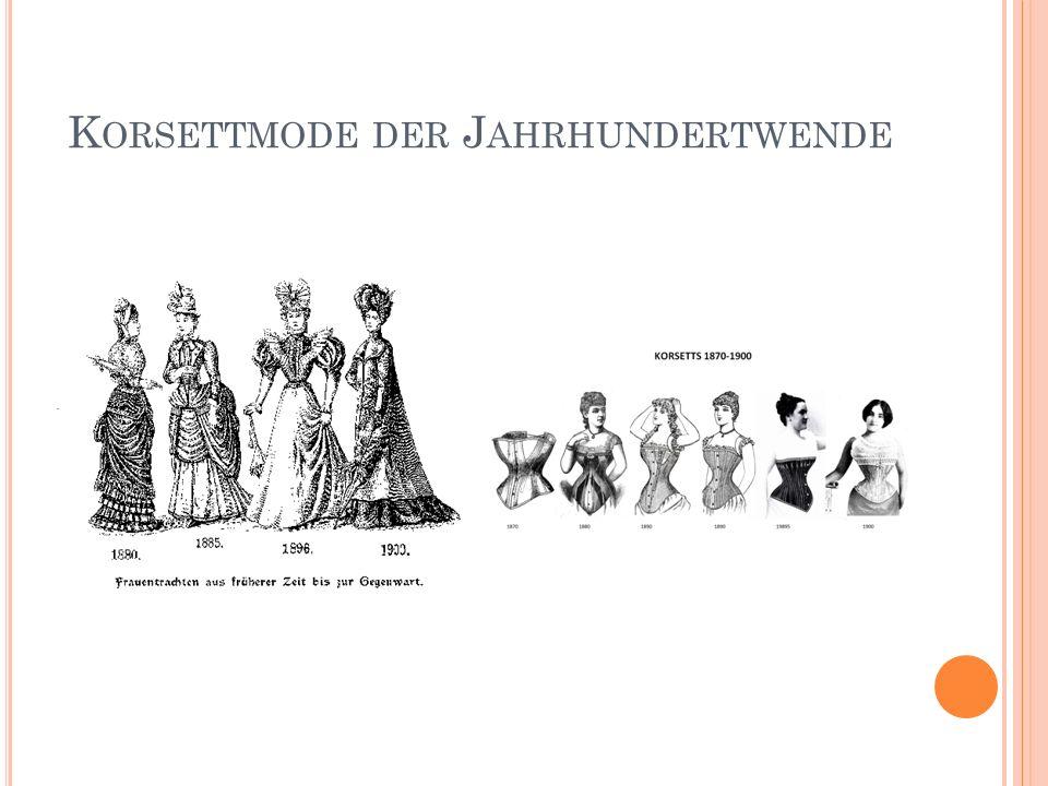 K ORSETTMODE DER J AHRHUNDERTWENDE
