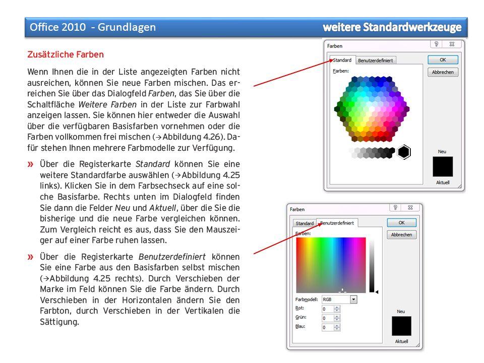 »Farben entstehen durch das Mischen der drei Grundfarben Rot, Gelb und Blau.