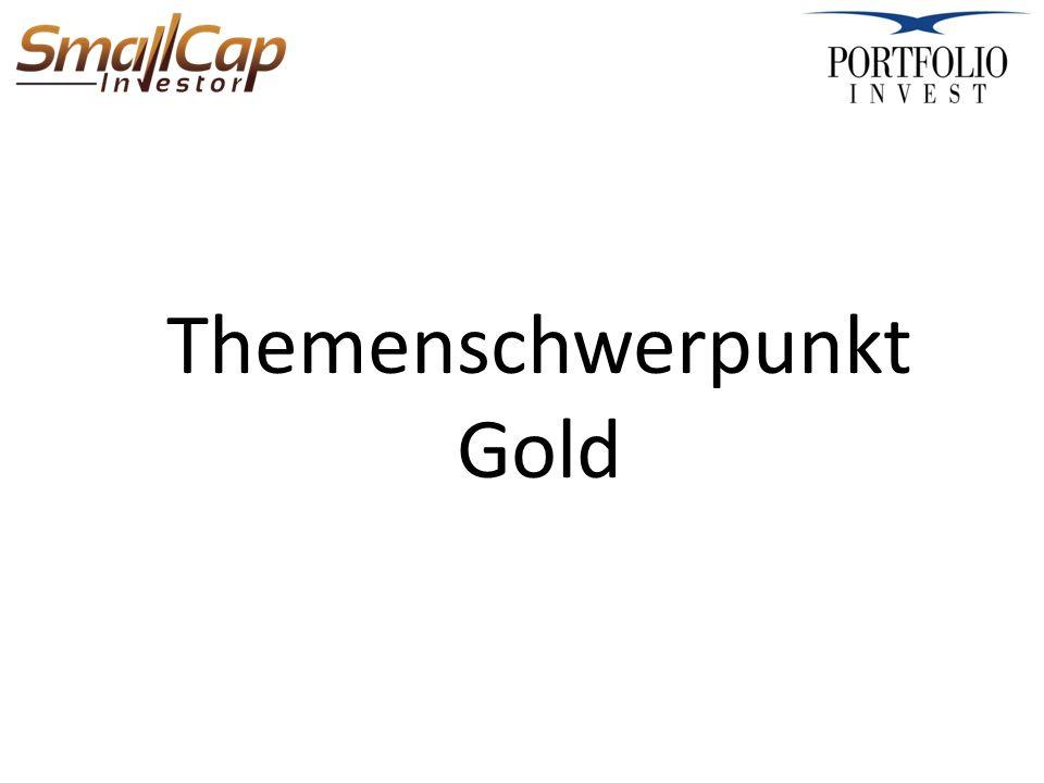 Themenschwerpunkt Gold