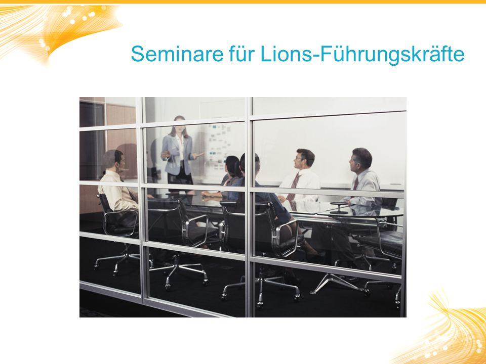 Seminare für Lions-Führungskräfte