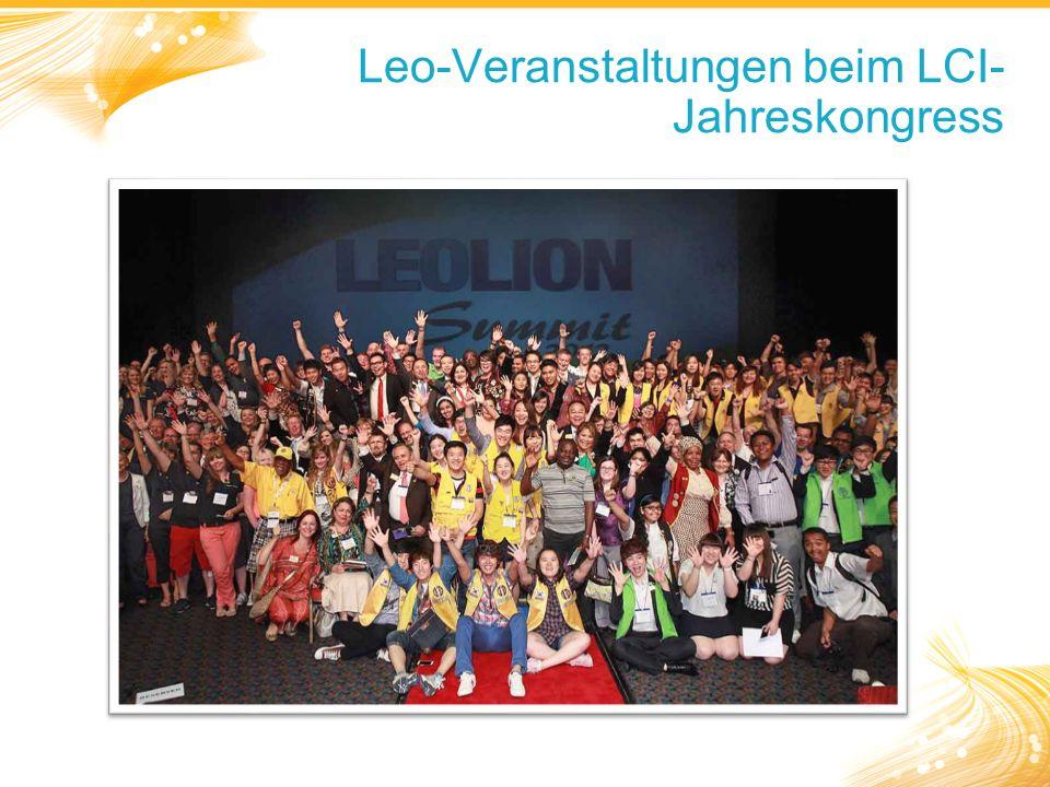 Leo-Veranstaltungen beim LCI- Jahreskongress