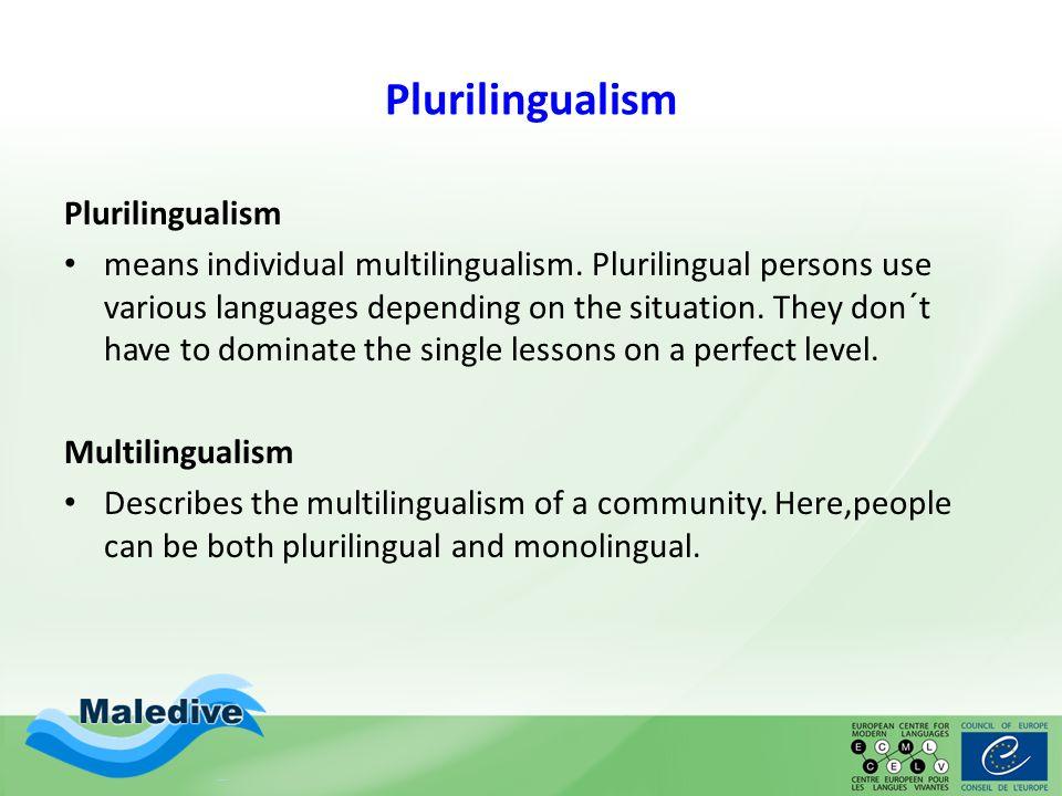 Plurilingual Society.