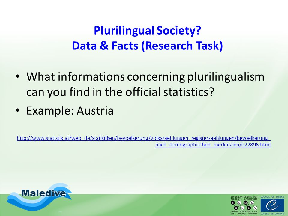 Languages - Cultures- Identities Plurilingual Individuals learner profiles have to be added!