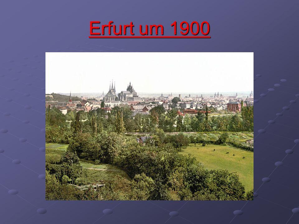 Erfurter Dom, Severikirche,Theater und Stadtmuseum