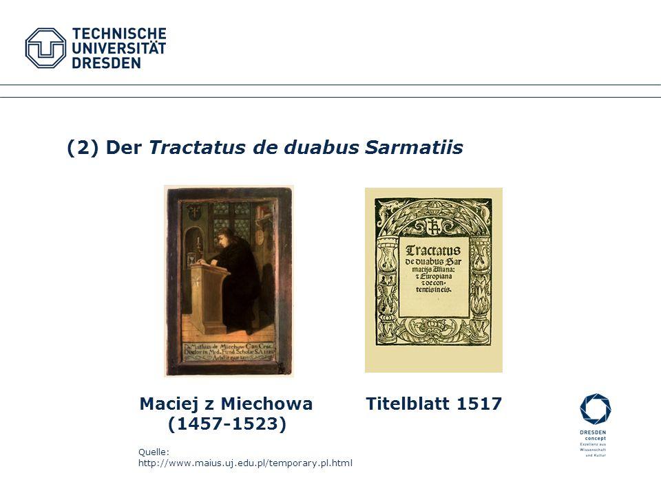 Maciej z Miechowa Titelblatt 1517 (1457-1523) Quelle: http://www.maius.uj.edu.pl/temporary.pl.html Fakultätsname XYZ Fachrichtung XYZ Institutsname XY