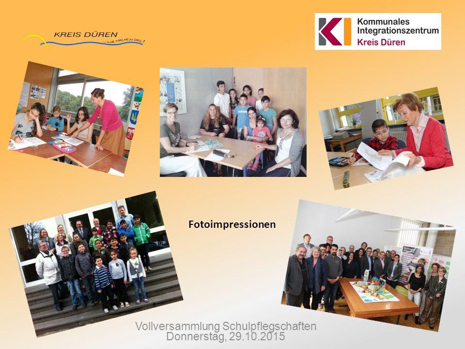 Vollversammlung Schulpflegschaften Donnerstag, 29.10.2015 Fotoimpressionen