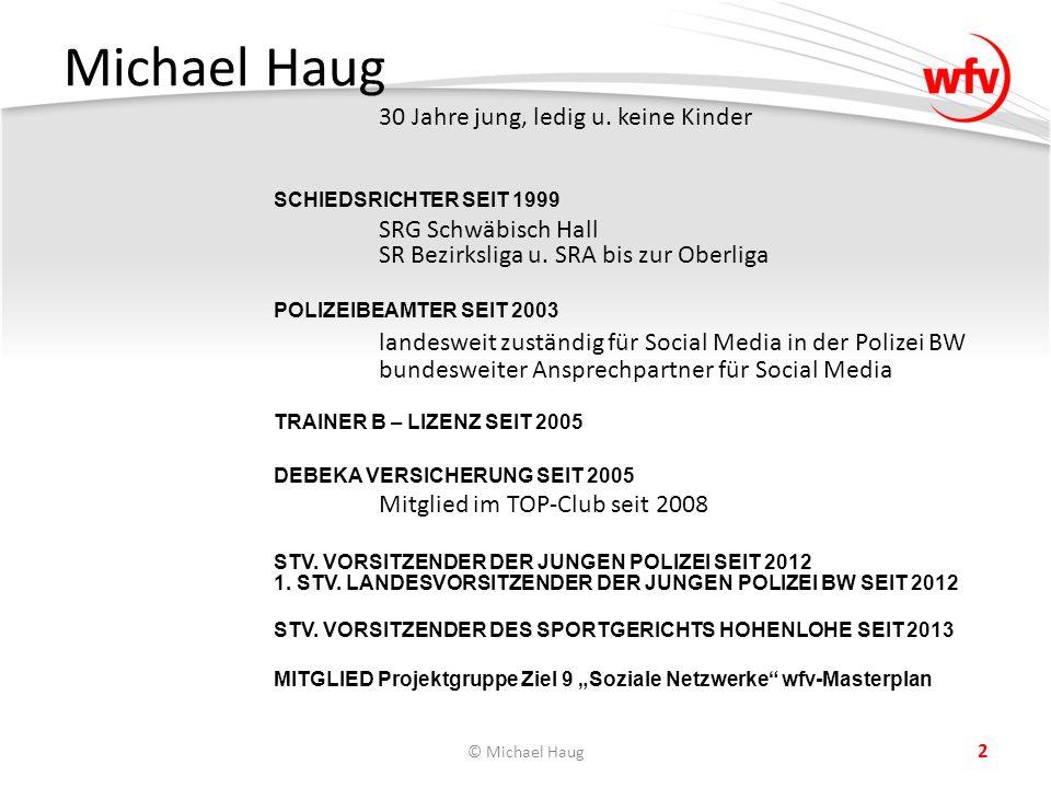 Michael Haug 30 Jahre jung, ledig u.