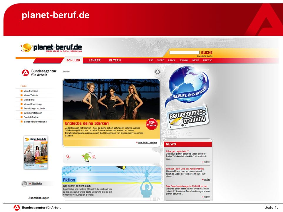 Seite 18 planet-beruf.de