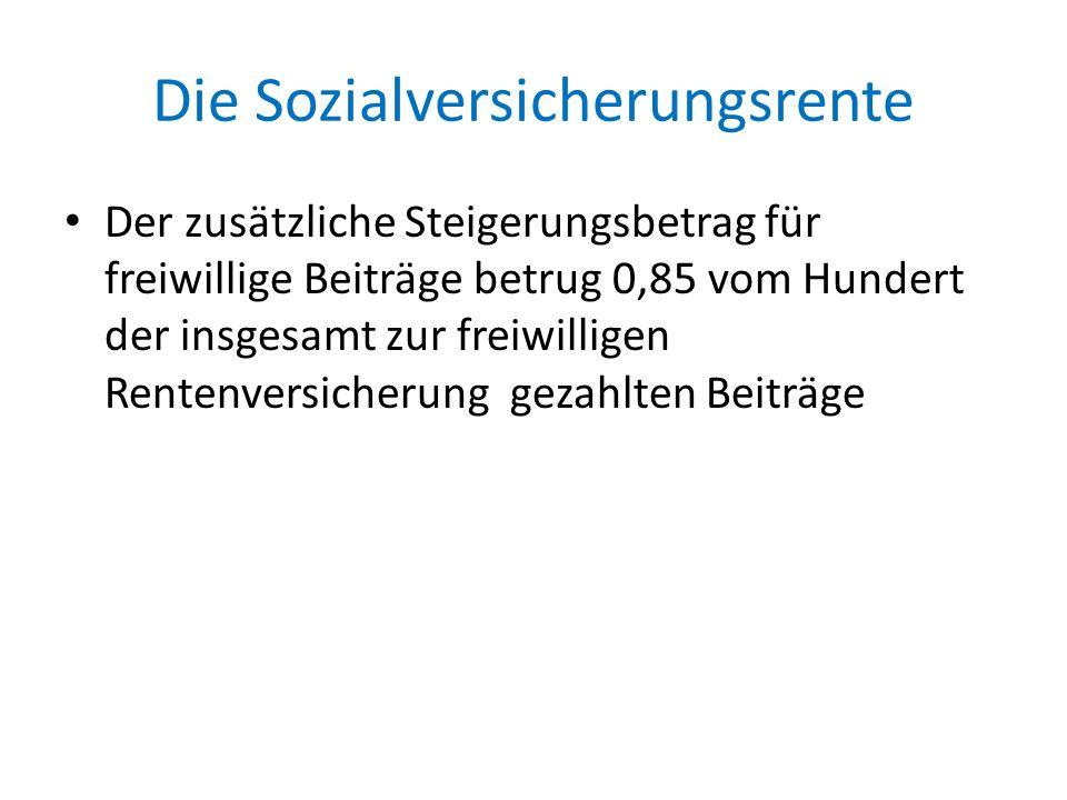 Die Rentenumwertung Besonderheiten für Bahn und Postmitarbeiter Als Zeiten der Zugehörigkeit zur Freiwilligen Zusatzrentenversicherung gelten auch Beschäftigungszeiten bei der Deutschen Reichsbahn oder bei der Deutschen Post vom 1.