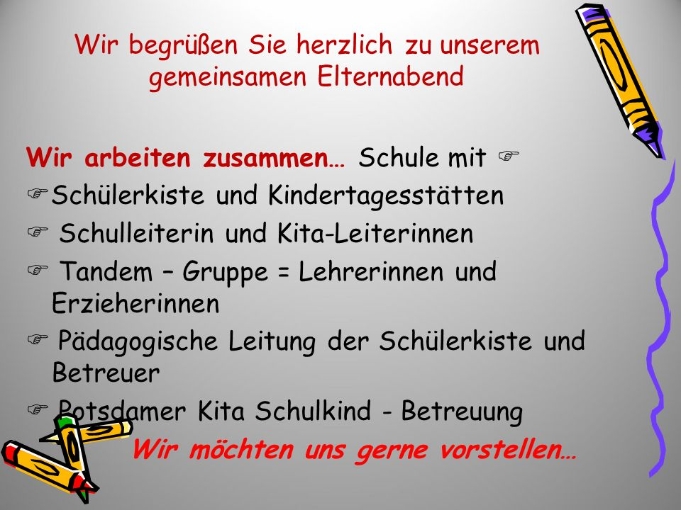 Wir begrüßen Sie herzlich… Kita Waldacker Leiterin: Frau Keller-Wettermann