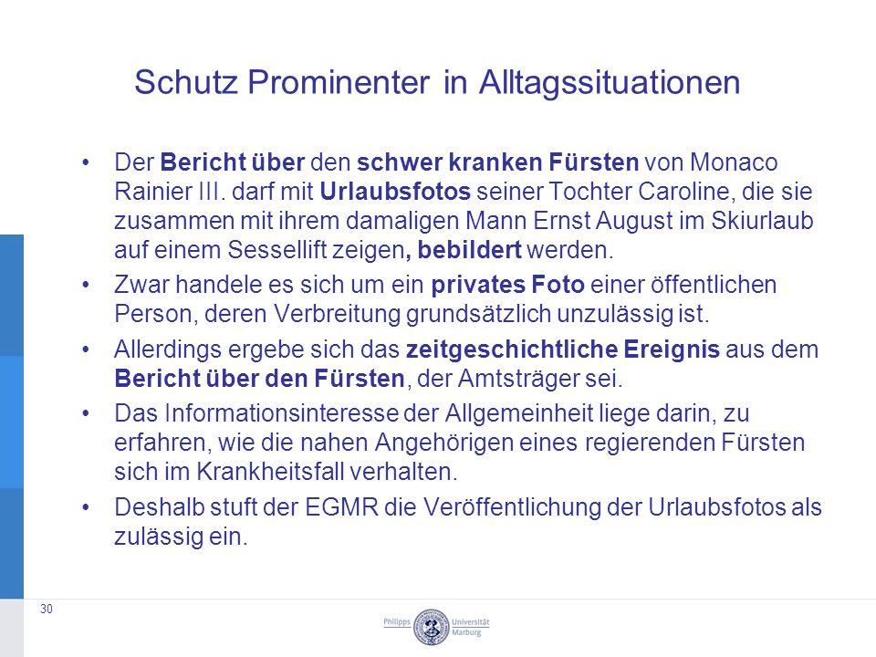 Schutz Prominenter in Alltagssituationen Der Bericht über den schwer kranken Fürsten von Monaco Rainier III.
