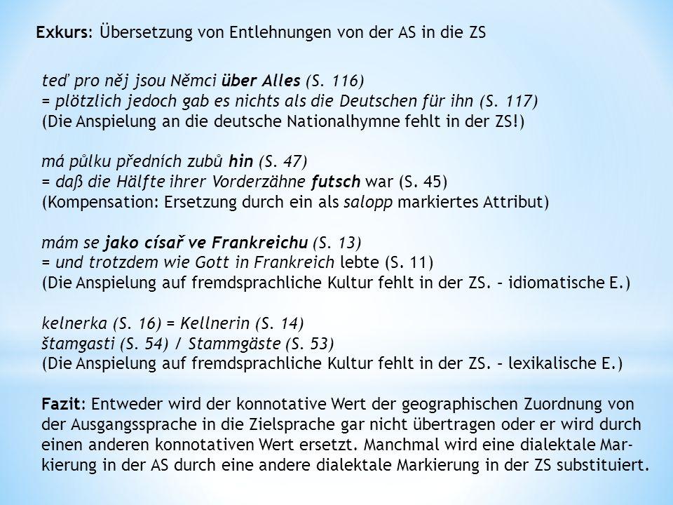 4) Konnotationen der stilistischen Wirkung +veraltet +gespreizt +papierdeutsch +modisch +bildhaft, usw.
