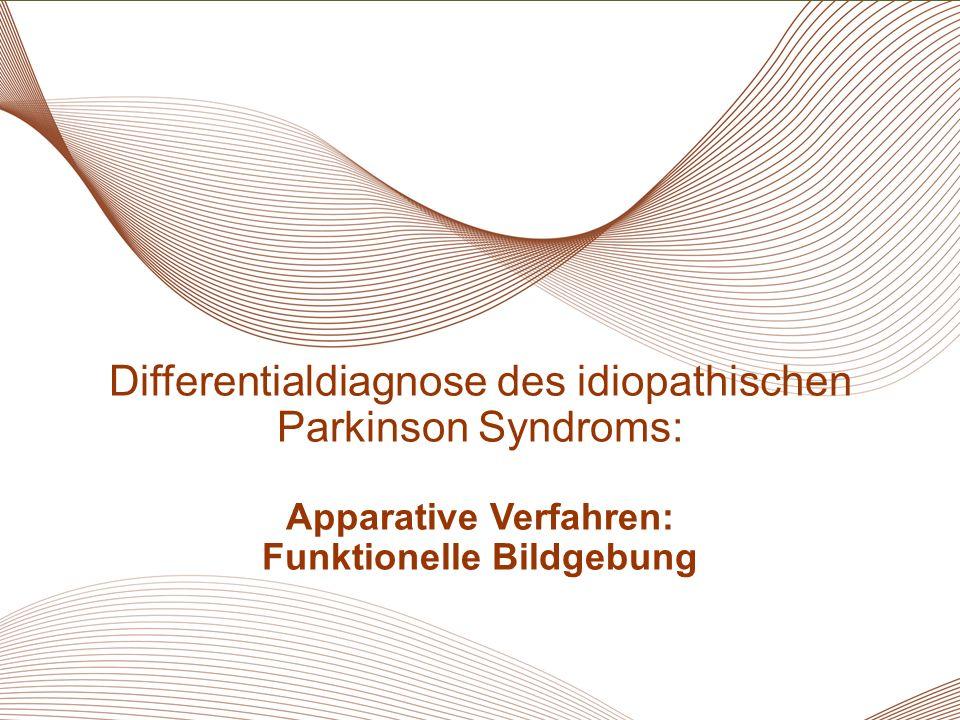 37 Essentieller Tremor Differentialdiagnose des idiopathischen Parkinson Syndroms: Apparative Verfahren: Funktionelle Bildgebung