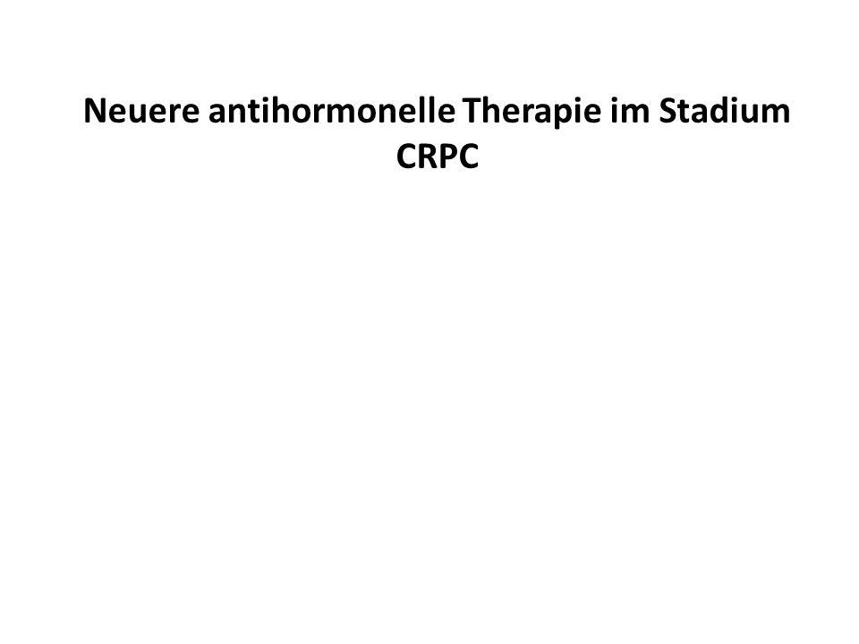 Neuere antihormonelle Therapie im Stadium CRPC