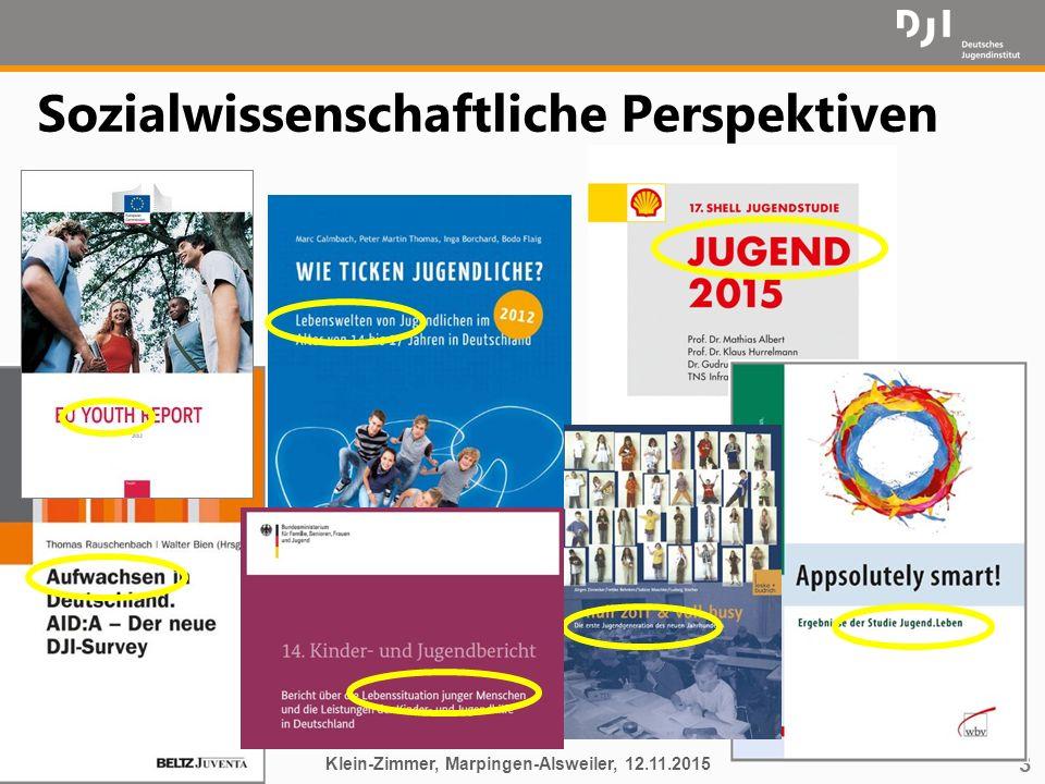 3 Sozialwissenschaftliche Perspektiven Klein-Zimmer, Marpingen-Alsweiler, 12.11.2015