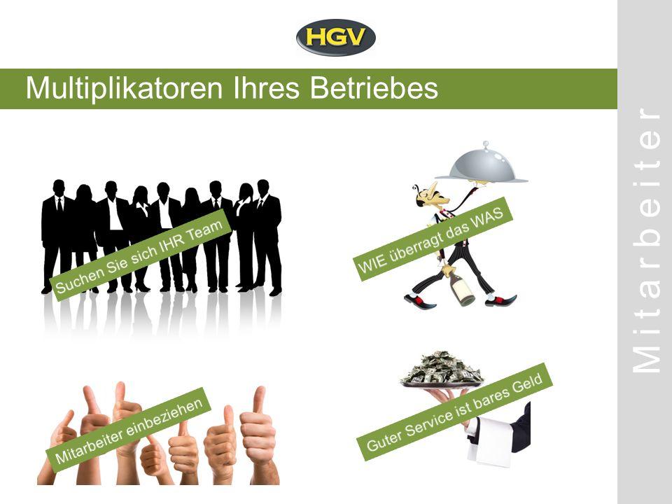 Multiplikatoren Ihres Betriebes Mitarbeiter