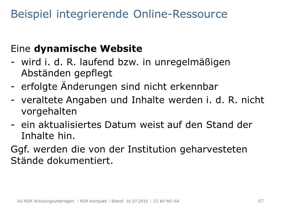 Eine dynamische Website -wird i. d. R. laufend bzw.