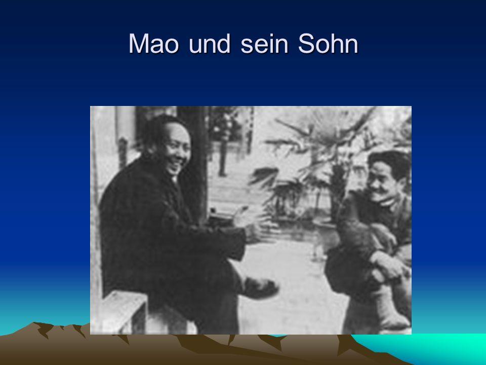 Mao und sein Sohn
