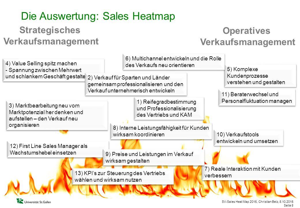 SV-Sales Heat Map 2015, Christian Belz, 8.10.2015 Seite 8 5) Komplexe Kundenprozesse verstehen und gestalten 5) Komplexe Kundenprozesse verstehen und