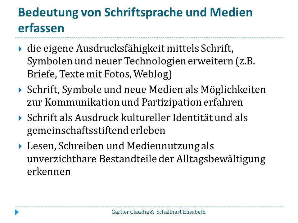 Andere Medien zur Sprachförderung  Professor Jecks Tierlieder-ABC Beschreibung unter: http://www.bibernetz.de/ww3ee/tierlieder- abc.php?sid=16666224904304650426000430080680 http://www.bibernetz.de/ww3ee/tierlieder- abc.php?sid=16666224904304650426000430080680 Gartler Claudia & Schallhart Elisabeth