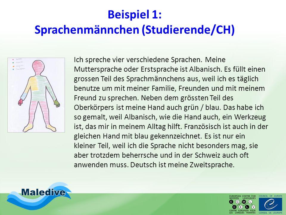 Beispiel 2: Sprachenlandkarte (Studierende/A) (Meine Sozialisation und ich, ÖDaF-Tagung 2010, Georg Gombos)