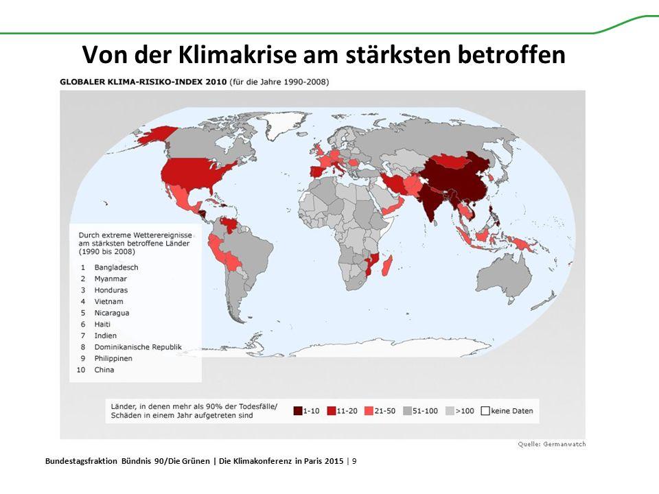 Bundestagsfraktion Bündnis 90/Die Grünen | Die Klimakonferenz in Paris 2015 | 9 Von der Klimakrise am stärksten betroffen