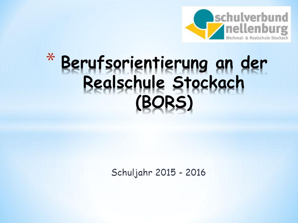 Schuljahr 2015 - 2016